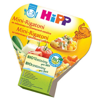 HIPP Cestoviny Mini-Rigatoni zeleninová zmes BIO 250 g
