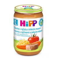 HIPP Menu Paradajky s cestovinami + teľacie mäso BIO 220 g