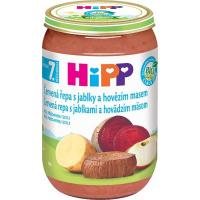 HiPP BIO Červená repa s jablkami a hovädzím mäsom 220 g