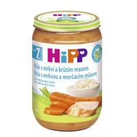 HIPP Junior Ryža s karotkou a morčacím mäsom BIO 220 g