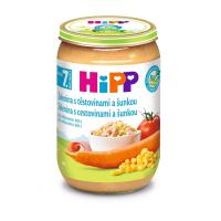 HIPP Junior Zelenina s cestovinami a šunkou BIO 220 g