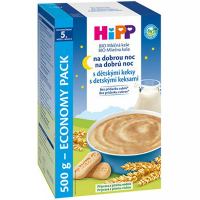 HIPP Kaša na dobrú noc BIO s detskými keksami 450 g