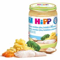 HiPP Mini cestoviny s aljašskou treskou v maslovej zelenine 190 g