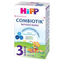 HiPP 3 JUNIOR Combiotik Pokračovacie batoľacie mlieko od 12 - 24 mesiacov 500 g