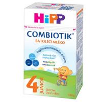 HiPP 4 JUNIOR Combiotik Pokračovacie batoľacie mlieko od 2 rokov 500 g