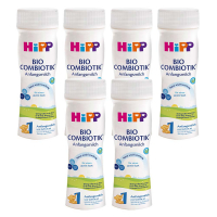 HIPP Combiotik 1 Tekuté počiatočné mlieko BIO 6x 200 ml