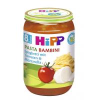 HIPP Pasta bambini Paradajky so špagetami a Mozzo. 220 g