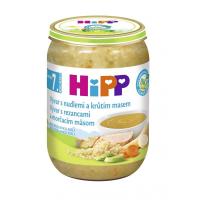 HIPP Polievky Vývar s rezancami a morčacím BIO 190 g