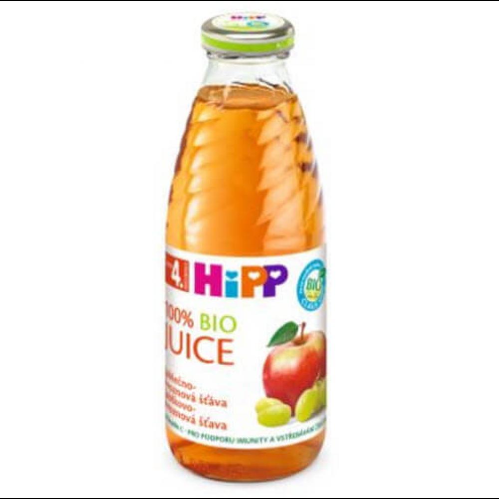 HIPP Šťava Jablkovo-hroznová BIO 500 ml