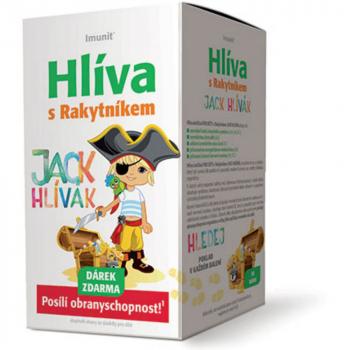IMUNIT Hliva Jack Hlívák s rakytníkom pre deti 30 tabliet
