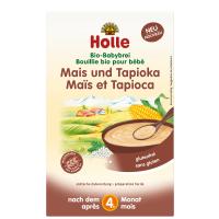 HOLLE Baby Bio Bezmliečna kaša Kukurica s tapiokou 250 g