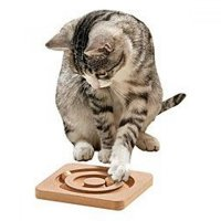 KARLIE Interaktivná hračka pre mačky hra 19 x 19 cm