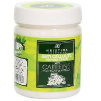 Hristina prírodné anticelulitídny spevňujúci krém s kofeínom a výťažkom z ananásu 200 ml