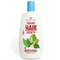 Hristina prírodné kondicionér pre rast vlasov s chmeľom 200 ml