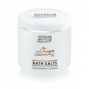 HRISTINA Prírodná kúpeľová soľ pomaranč & škorica 500 g
