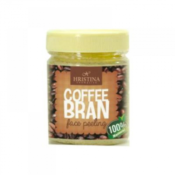 HRISTINA Prírodný peeling z kávových zrniečok 200 ml