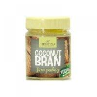 HRISTINA Prírodné peeling z kokosových otrúb 200 ml