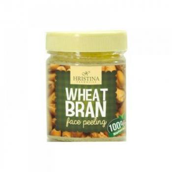 HRISTINA Prírodné peeling z pšeničných klíčkov a otrúb 200 ml