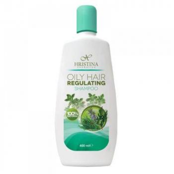 HRISTINA Prírodný šampón na mastné vlasy 400 ml