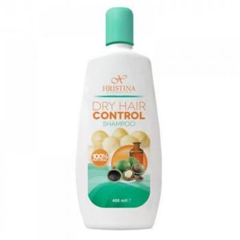 HRISTINA Prírodný šampón na suché vlasy 400 ml