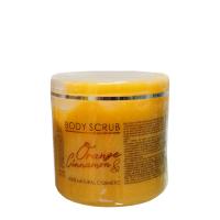HRISTINA Prírodný telový peeling pomaranč a škorica 500 ml