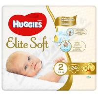 HUGGIES Elite Soft 2 4 až 6 kg 24 ks