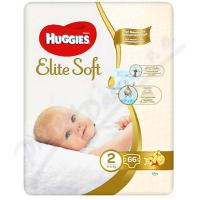 HUGGIES Elite Soft 2 4 až 6 kg 66 ks