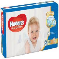 HUGGIES Ultra Comfort Jumbo veľ.3 5-8 kg 56 ks