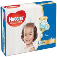 HUGGIES Ultra Comfort Jumbo veľ.4+ 10-16 kg  46 ks