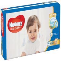 HUGGIES Ultra Comfort Jumbo veľ.4 8-14 kg 50 ks