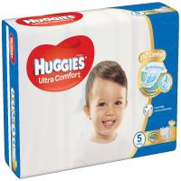 HUGGIES Ultra Comfort Jumbo veľ.5 12-22 kg 42 ks