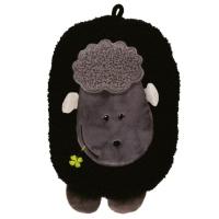 HUGO FROSCH Eco junior comfort detský termofor s motívom ovečky čierna 0,8 l