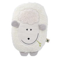 HUGO FROSCH Eco junior comfort detský termofor s motívom ovečky krémová 0,8 l