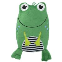 HUGO FROSCH Eco junior comfort detský termofor žaba 0,8 l
