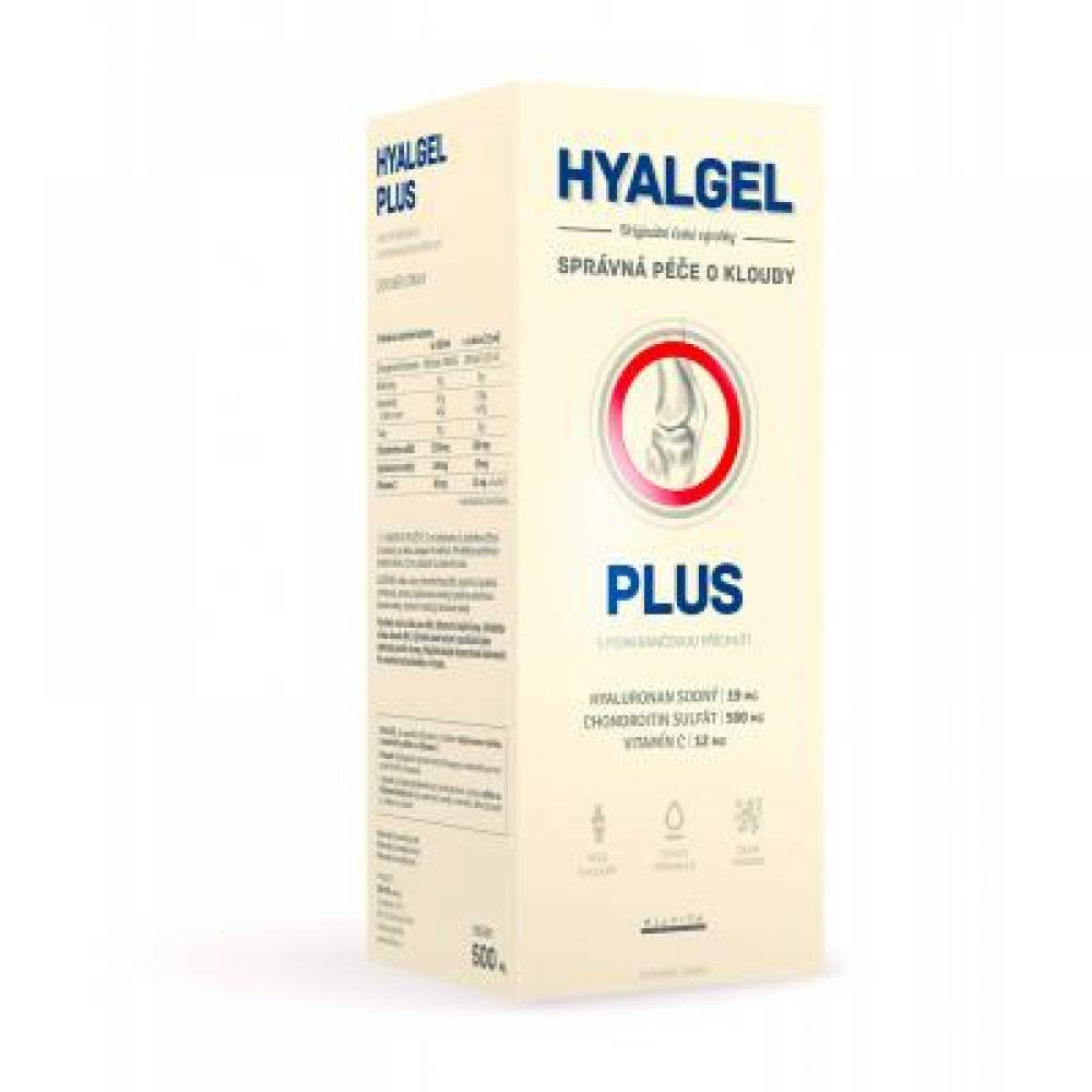 Hyalgel plus pomaranč 500 ml