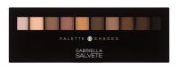 GABRIELLA SALVETE Palette 10 Shades očný tieň 12 g 02 Nude