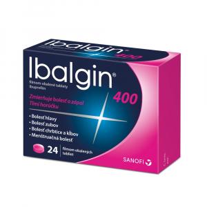 IBALGIN 400 mg x 24 tabliet