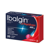 IBALGIN Rapidcaps 20 x 400 mg