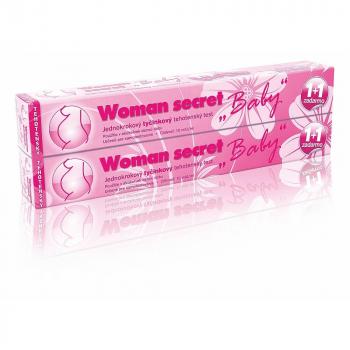 """IMPERIAL VITAMINS Woman secret """"Baby"""" Jednokrokový tyčinkový tehotenský test 1+1 ZDARMA"""