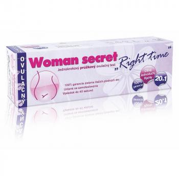 "IMPERIAL VITAMINS Woman secret ovulačný test ""Right time"" 20v1"