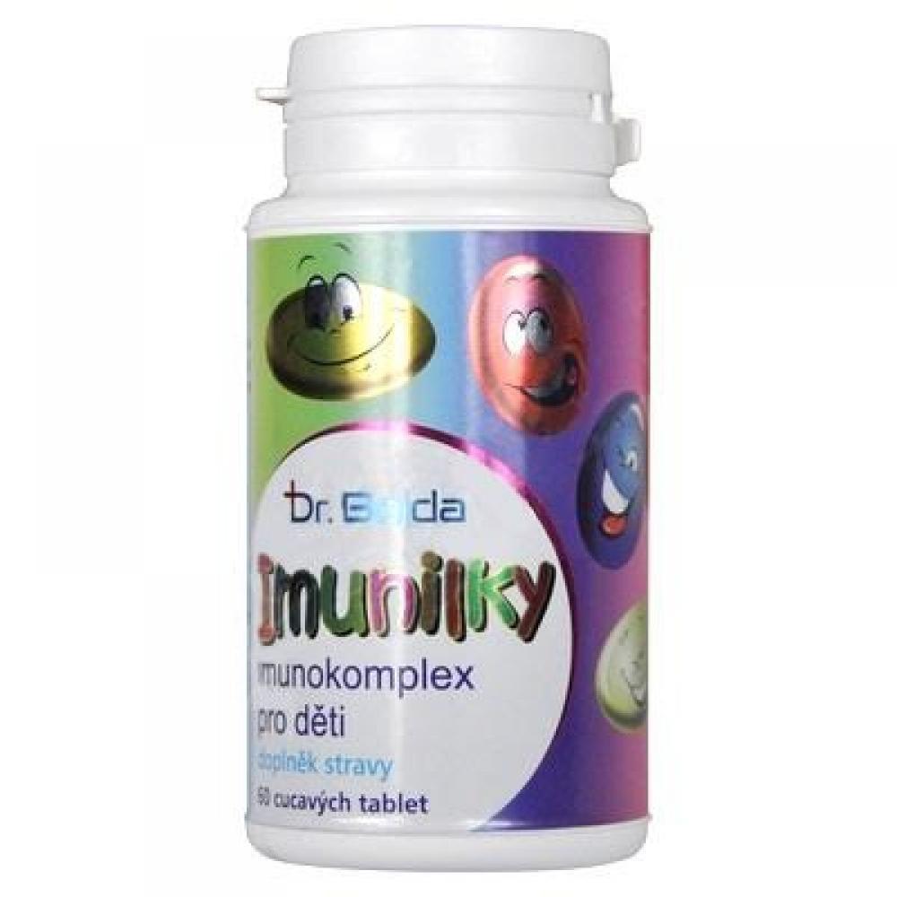 DR. Bojda Imunilky imunokomplexov pre deti 60 cmúľacích tabliet