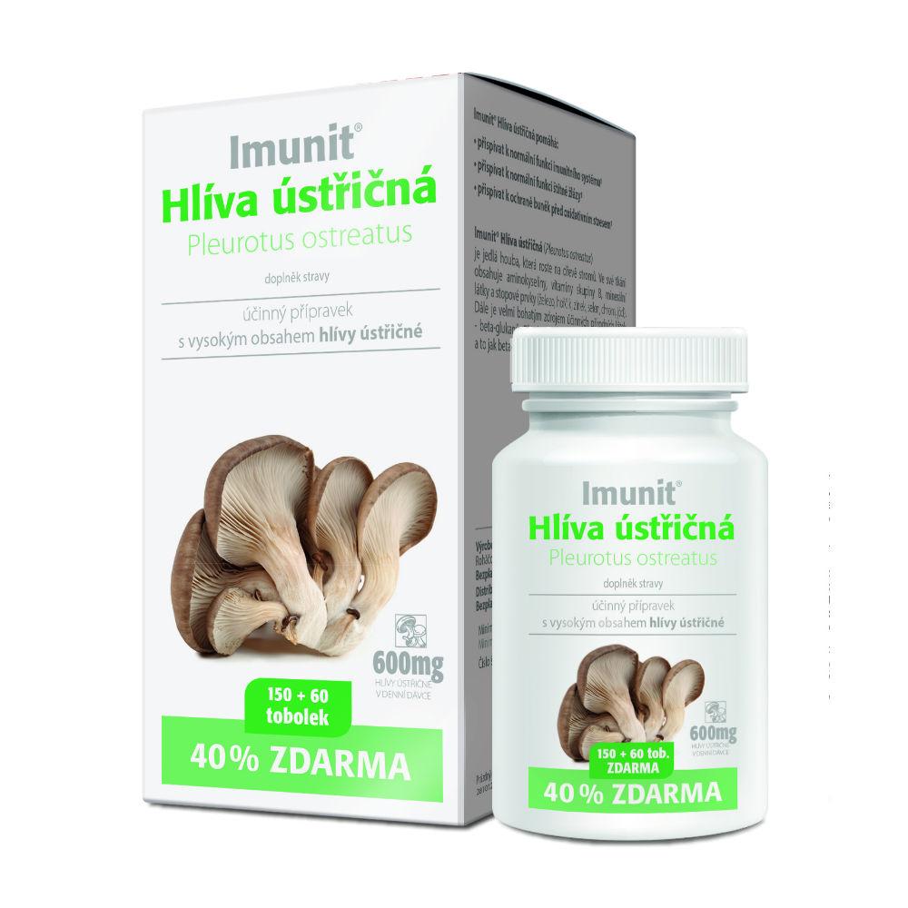 Imunit Hliva ustricová 150 + 60 kapsúl