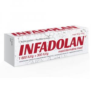 INFADOLAN dermálna masť 30 g