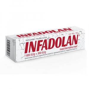 INFADOLAN dermálna masť 100 g