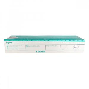 Injekčná striekačka 2 ml Braun 100 ks bez ihly 4606027
