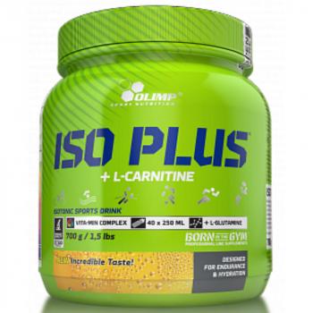 ISO Plus, izotonický nápoj v prášku, 700 g, Olimp - Pomaranč