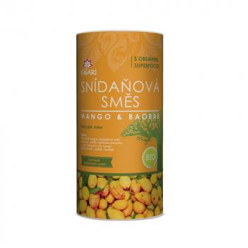 Bio raňajková zmes mango-Baobab 800g