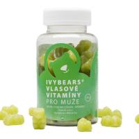 IVY Bears vlasové vitamíny pre mužov 60 kusov