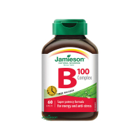 JAMIESON B-komplex100 mg s postupným uvoľňovaním 60 tabliet