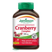 JAMIESON Brusnice - komplex 500 mg 60 kapsúl